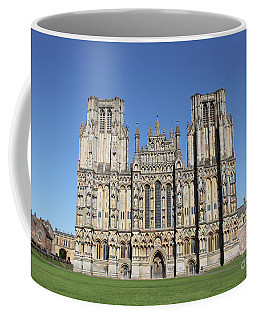 Wells Cathedral Coffee Mug by Linda Prewer