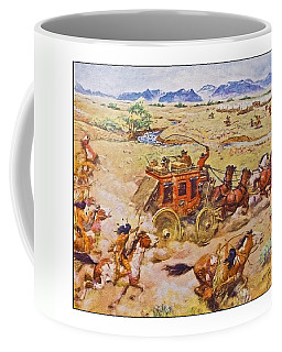 Wells Fargo Express Old Western Coffee Mug