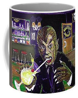 Werewolf Drinking A Pina Colada At Trader Vic's Coffee Mug
