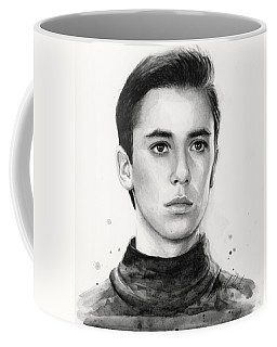 Wesley Crusher Star Trek Fan Art Coffee Mug