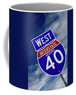 West 40 Coffee Mug by Bob Pardue