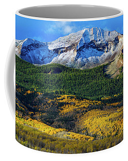 West Beckwith In Autumn Coffee Mug