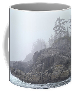 West Coast Landscape Ocean Fog I Coffee Mug