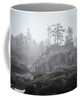 West Coast Landscape Ocean Fog IIi Coffee Mug