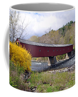 West Cornwall Ct Covered Bridge Coffee Mug