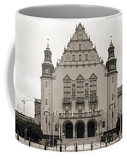 West Facade Of Adam Mickiewicz University Poznan Poland Coffee Mug