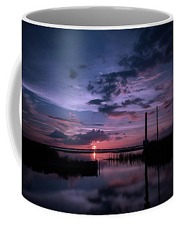 West Lake Toho Blu Indigo Sunset Coffee Mug