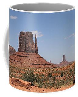 West Mitten Butte Monument Valley Coffee Mug