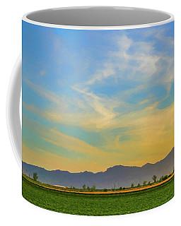 West Phoenix Sunset Digital Art Coffee Mug