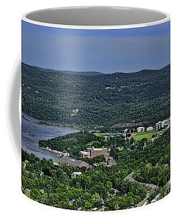 West Point From Storm King Overlook Coffee Mug