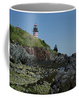West Quoddy A View From The Ocean Floor Coffee Mug