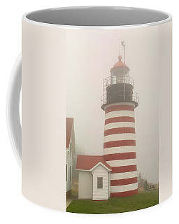 West Quody Head Lighthouse Coffee Mug