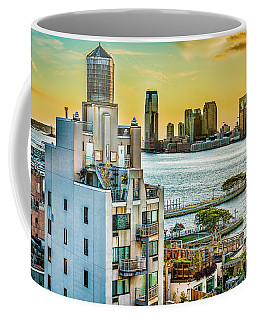 Coffee Mug featuring the photograph West Village To Jersey City Sunset by Chris Lord