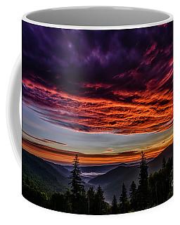 West Virginia Highland Dawn Coffee Mug