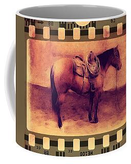 Western Movie Cowpony Film Coffee Mug by Michele Carter