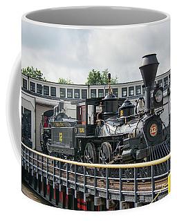 Western And Atlantic 4-4-0 Steam Locomotive Coffee Mug