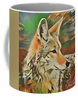 Western Coyote Coffee Mug