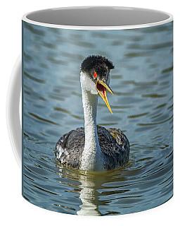 Western Grebe Coffee Mug by Tam Ryan