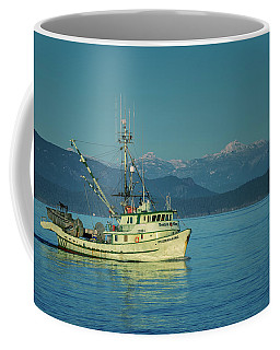 Coffee Mug featuring the photograph Western King At French Creek by Randy Hall