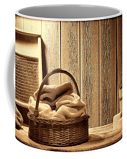 Western Laundromat   Coffee Mug by American West Legend By Olivier Le Queinec