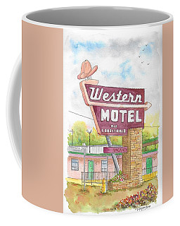 Western Motel In Bethany, Oklahoma Coffee Mug