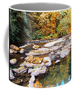 Western Oregon Forest Stream Coffee Mug