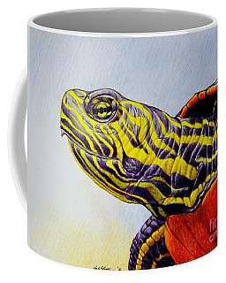 Western Painted Turtle Coffee Mug