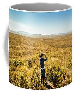 Western Plains Of Tasmania Coffee Mug