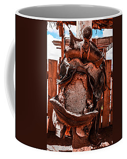 Coffee Mug featuring the photograph Western Saddle by Dany Lison