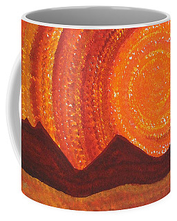 Western Sky Wave Original Painting Coffee Mug
