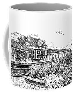 Western Springs Train Station Coffee Mug