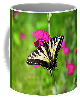 Western Tiger Swallowtail Butterfly Coffee Mug
