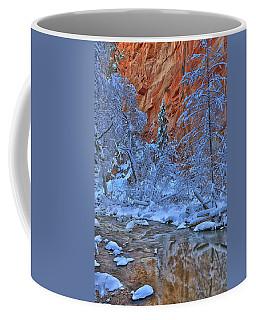 Westfork In Winter Coffee Mug