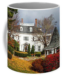 Coffee Mug featuring the photograph Westglow In Autumn by Karen Wiles