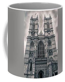Westminister Abbey Bw Coffee Mug