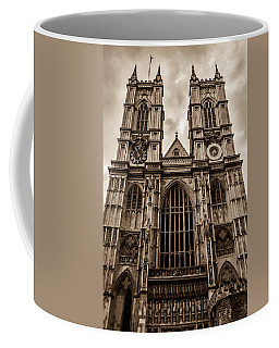 Westminister Abbey Sepia Coffee Mug