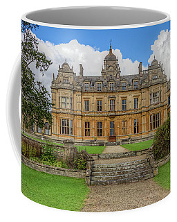 Coffee Mug featuring the photograph Westonbirt School For Girls by Clare Bambers