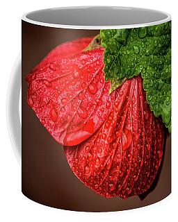 Wet Flower-abutilon Coffee Mug