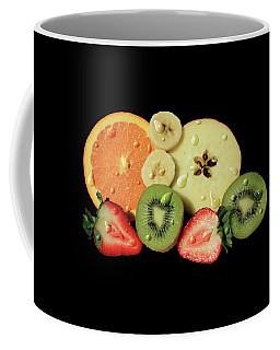 Coffee Mug featuring the photograph Wet Fruit by Shane Bechler
