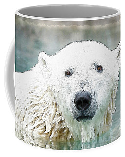 Wet Polar Bear Coffee Mug