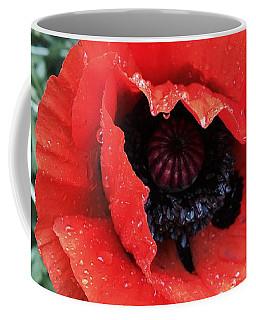 Wet Poppy Coffee Mug