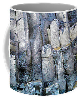 Coffee Mug featuring the photograph Wet Rocks 2 by Hitendra SINKAR