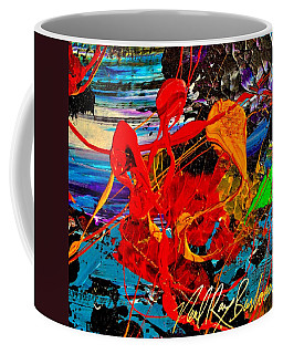 Wet Sunset Coffee Mug