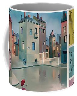 Wet Town Coffee Mug