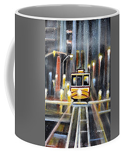 Wet Tram California Coffee Mug