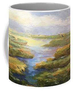 Wetlands Coffee Mug by Helen Harris
