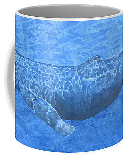 Whale In Surface Light Coffee Mug