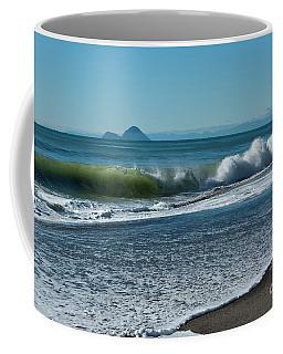 Coffee Mug featuring the photograph Whale Island by Werner Padarin
