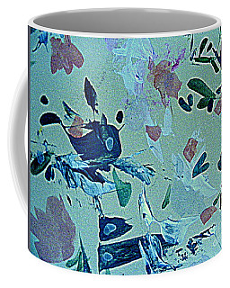 Coffee Mug featuring the painting Whale Ride by Nancy Kane Chapman