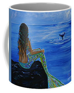 Whale Watcher Coffee Mug